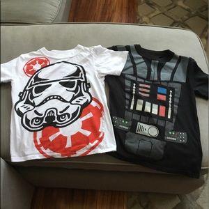 Star Wars T-Shirt Pair, 1 Black & 1 White